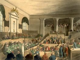 Old Bailey Court, circa 1808