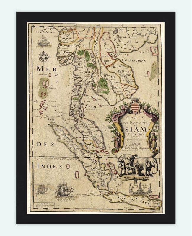 Siam, 1686